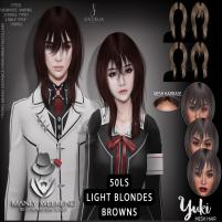 20200626 Manly Weekend Sintiklia Hair Yuki browns_blondes