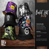 20200717 Manly Weekend #BANG - Bucket Hat Printed