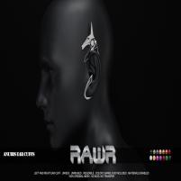 20200731 Manly Weeekend RAWR! Anubis Ear Cuffs PIC