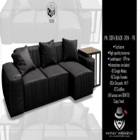 20200731 Manly Weeekend Youneed Sofa black - Zien PG MW2048