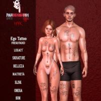 20200814 Manly Weekend panDEMONium ink - Ego Tattoo