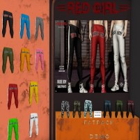 20200820 MoM red girl