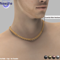20200821 Manly Weekend Essential Male Necklace